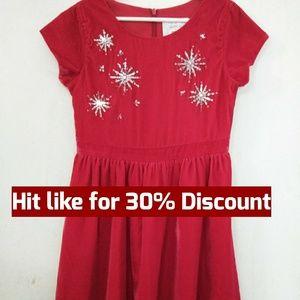 Gymboree Christmas Sequined Dress